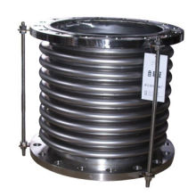 Stainless steel bellows with flange end