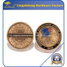 Moneda de cobre amarillo de la venta 2016 con vuelta rápida