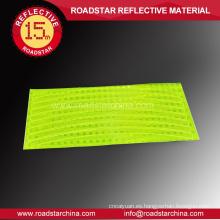 Ruedas de alta visibilidad reflectante de PVC etiquetas