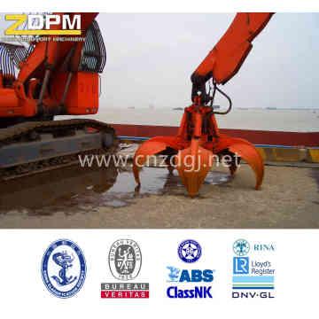 Pinças de escavadeira hidráulica Orangel casca para levantamento