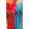 Luxo Sparkling Beaded Rhinestone Sexy Mermaid Long Evening Dress Cap Sleeve Veja Através Brilhante Sequin Party Vestidos ML192