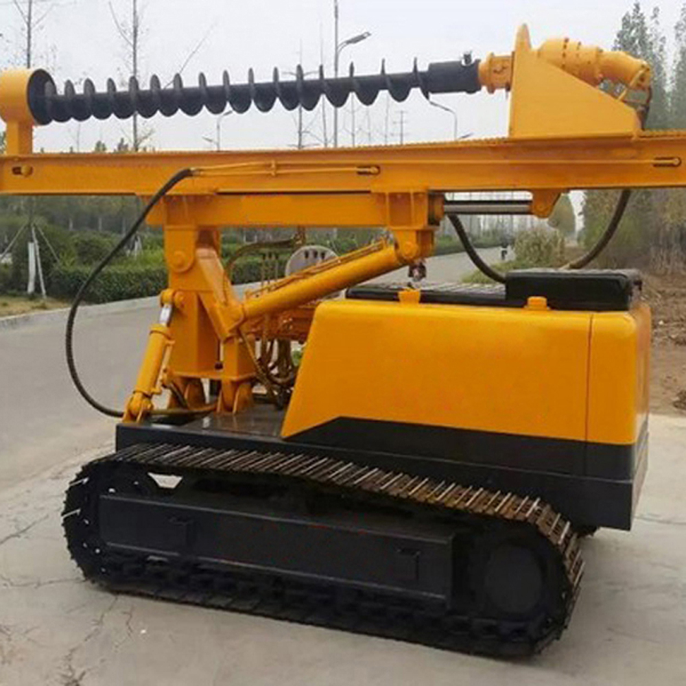 Pile Driving Machine
