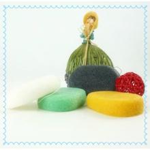 Купание / Детский натуральный уголь / белый / желтый / зеленый / розовый / губка Konjac