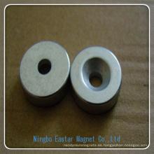 Imán de anillo Motor permanente del neodimio N35-N52