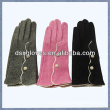 customized cashmere touch screen gloves