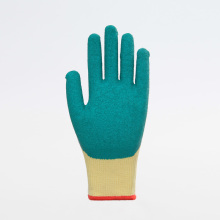 13G Latex Top Coated Breathable Safety Gloves