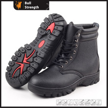 Split Buffalo Leather with Rubber Outsole Army Boot (SN5133)
