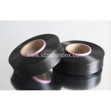 spandex lycra black bare yarn