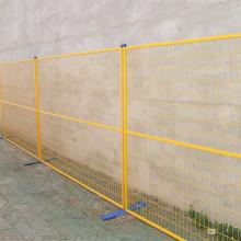Cerca provisória removível revestida PVC da alta segurança