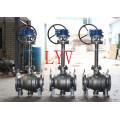 Válvula de bola criogénica API del acero inoxidable con temperatura baja usada para la transferencia del gas
