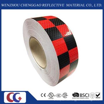 Gitter PVC Reflektierendes Klebeband 50mm für Lkw mit Gitterreflexfolie