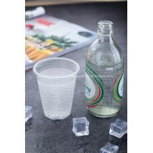 Vaso de plástico transparente de PP desechable de 9 oz