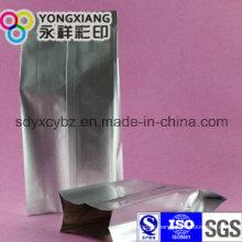 Side Gusset Aluminum Foil Packaging Green Tea Bag