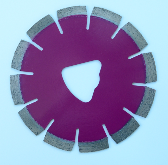 Soff-cut diamond disc