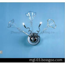 Entrance Practical inmetro High Quality Modern Glass Indoor Wall Light