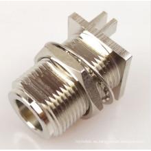 montaje en brida conectores n conector circular m12