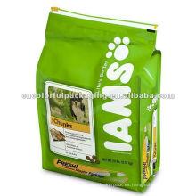bolsa de envasado de alimentos para perros / bolsa de papel de aluminio / envasado de alimentos para animales