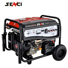 Super quiet silent gasoline generator for home use