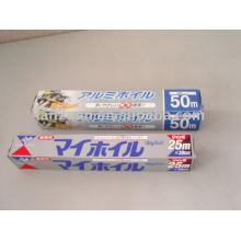 folha de alumínio de embalagens de alimentos