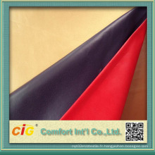Cuir synthétique chinois pour usage de chaussures