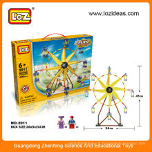 LOZ DIY ferris wheel plastic building blocks brique toys
