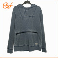 Custom Plain Hooded Sweaters Knitwear for Men