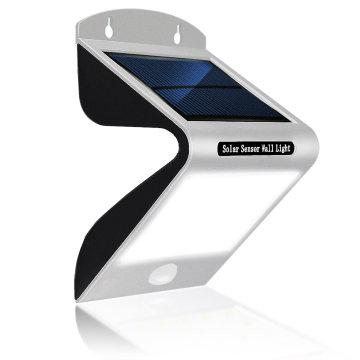 Новый 20 LED Солнечной лампы движения pir Датчик света Открытый настенный светильник свет во дворе