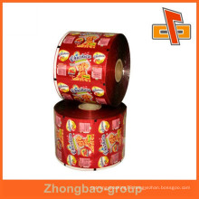 Super quality heat shrinkable sleeve label printable clear plastic labels