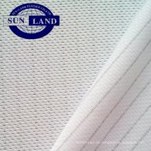 Polyester-Antistatik-Bekleidung Maschenware für Wischtuchhandschuhe Arbeitshemden