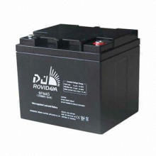 Rechargeable Super Capacity Lead-acid E-bike Battery, Solar and Wind Power Generation Systems