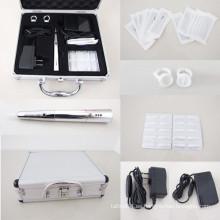 Kit de cejas Permanent Maquillaje Pen máquina fuente de alimentación con agujas CONSEJOS