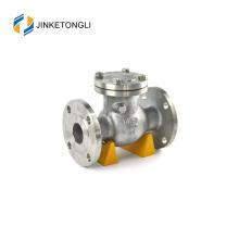 литая сталь A216 Gr. WCB 24-дюймовый API 6D герметизирующий перепускной клапан цена обратного клапана