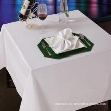 Fundas de mesa de algodón satinado
