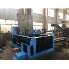 Compactador de virutas de hierro de chatarra de empuje, maquinaria de empacado