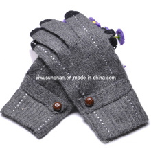 2015 Knitted Lady's Fashion Finger Touch Gloves