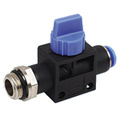 Tube Connector Pneumatic Hand Valve