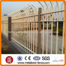 Powder Coated Decorative Iron Tubular Security Fence