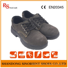 Suede Leather Protective Work Shoes Security Rubber Sole Labor Shoes