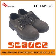 Замшевые Кожаные Защитные Ботинки Работы Безопасности Резиновая Подошва Рабочей Обуви