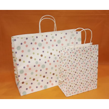 paper gift bag with twisted handle