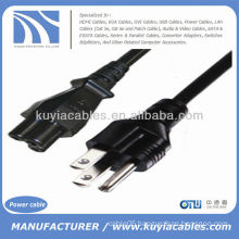 6FT 6 Feet Black US 3-Prong AC Power Supply Cable Adapter Cord For LCD PC