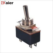 4A 125VAC 12MM Single Pole 4 Pin 2 Way KN3 Toggle Switch ON ON