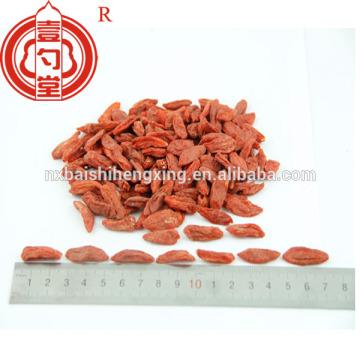 Goji berry in dried fruit 280/380 pcs/50gam gojiberry cream raw material