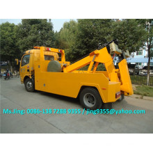 4 Wheels 5T Road Wrecker LKW, Wrecker Towing Truck, billig Schleppen Wrack LKW zu verkaufen