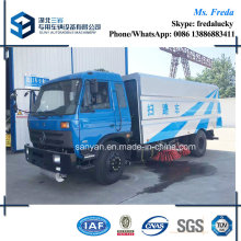 Dongfeng 12000L Vacuum Street Sweeping Cleaning Truck