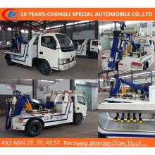 4X2 Mini 2t, 3t, 4t, 5t Recovery Wrecker/Tow Truck