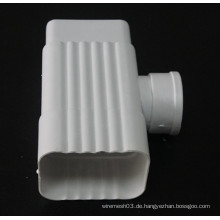 Hochwertiger 6-Zoll-K-Stil PVC-Steckverbinder