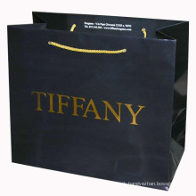 Color Printing Paper Shopping Bag with Handle