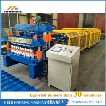 Roll Decker Quality Quality Double Roll Forming Machine