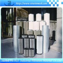 Elemento de filtro de aço inoxidável 304
